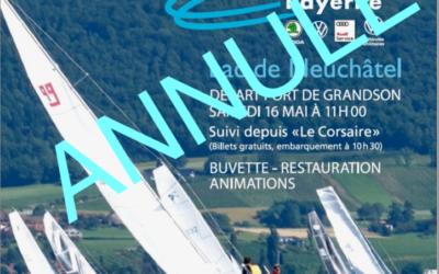 Bol d'Or Autonova Payerne du lac de Neuchâtel.