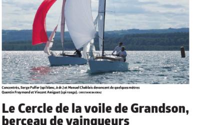 Star : Coupe des Amis, Corsaire : manche du Championnat suisse.