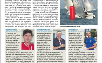 Finn International Swiss Championship, la Région nord vaudois 22 septembre.