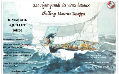 35ème régate-parade des vieux bateaux.